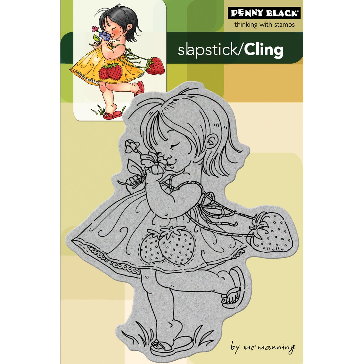 Penny Stamps Penny Black Cling Rubber Stamp
