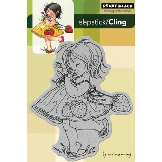 Penny Black Cling Rubber Stamp 4X6-Sweet Day