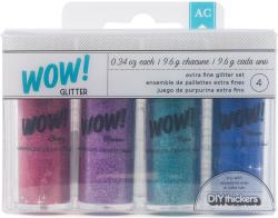 Wow! Extra Fine Glitter 4pk-Everyday 2