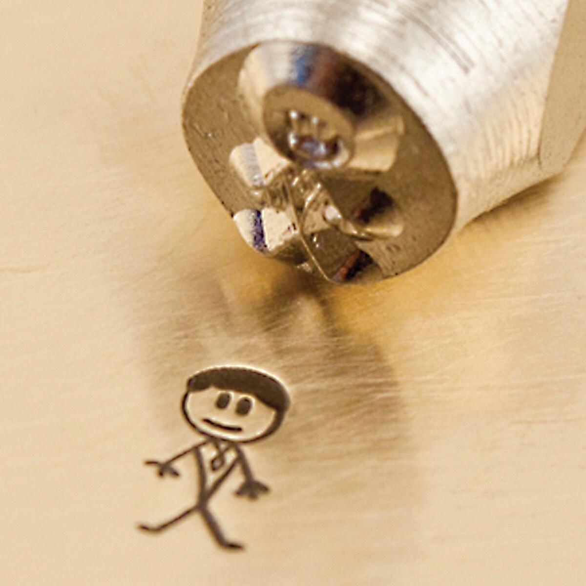 Impress Art Precision-cut Daddy 7mm Metal Crafting Design Stamps 1/Pkg