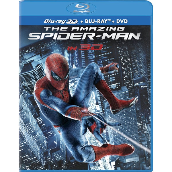 The Amazing Spider-Man 3D (Blu-ray 3D / Blu-ray / DVD)