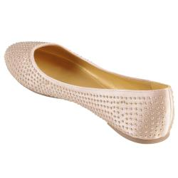 Hailey Jeans Co. Women's 'Laguna' Studded Round Toe Ballet Flats