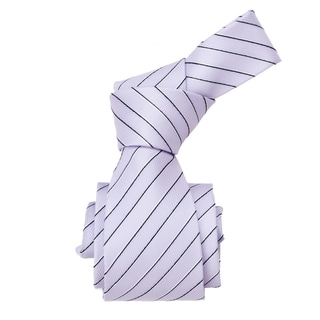 Republic Men&#39;s Light Purple Striped Woven Tie