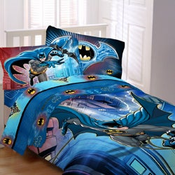 Batman 'Lightning Night' 5-piece Bed in a Bag with Sheet Set