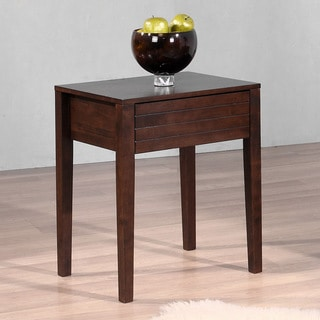Summit Wenge Finish 1-drawer Nightstand