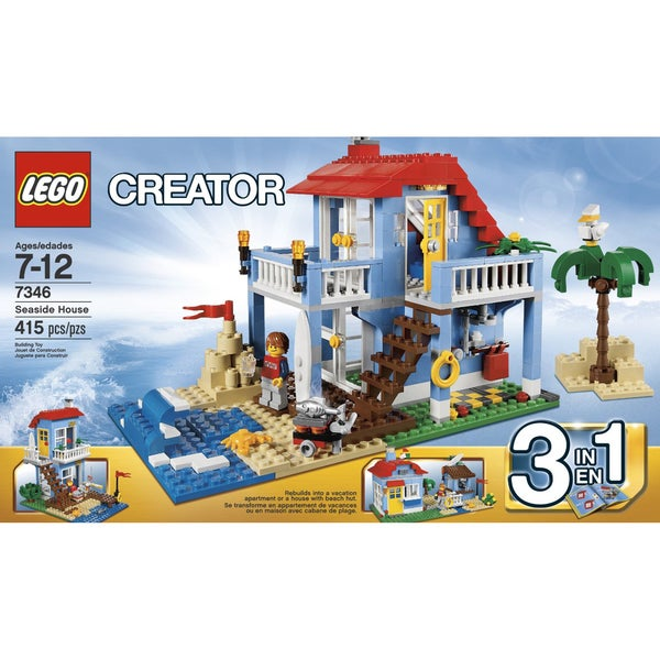 LEGO Creator Seaside House Building Toy