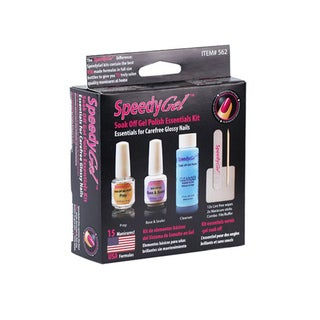 SpeedyGel Soak Off Gel Polish Essentials Kit