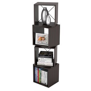 Rotating Storage Espresso Display Cube