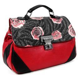 Nicole Lee Genuine Leather Romance Cross Body Bag