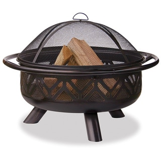 Oil Rubbed Bronze Firebowl