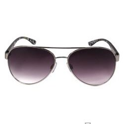 Hotties Women's Animal Print Transparent Frame Fashion Sunglasses