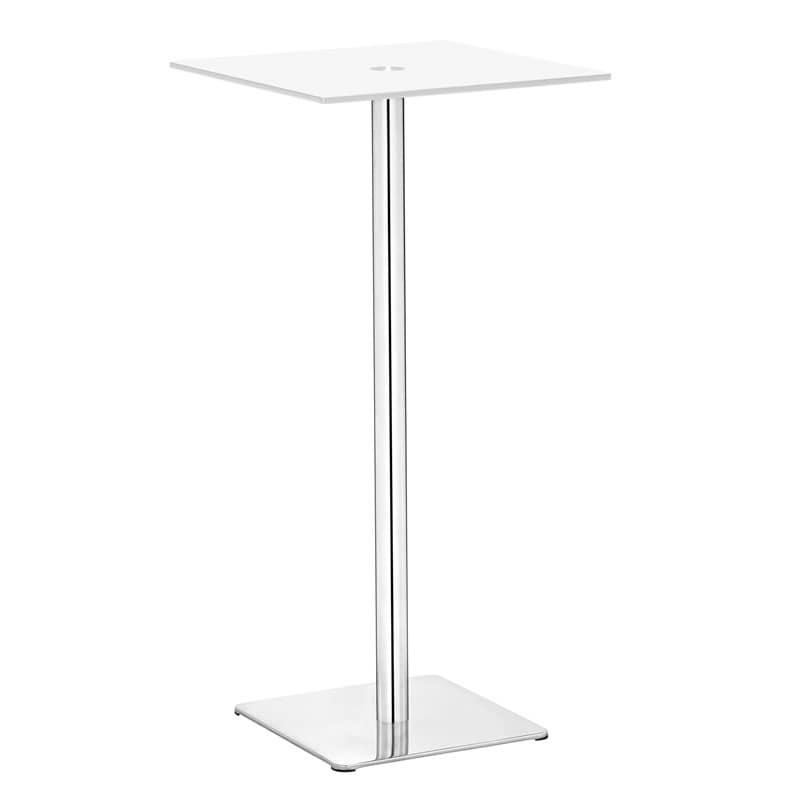 Dimensional White Bar Table