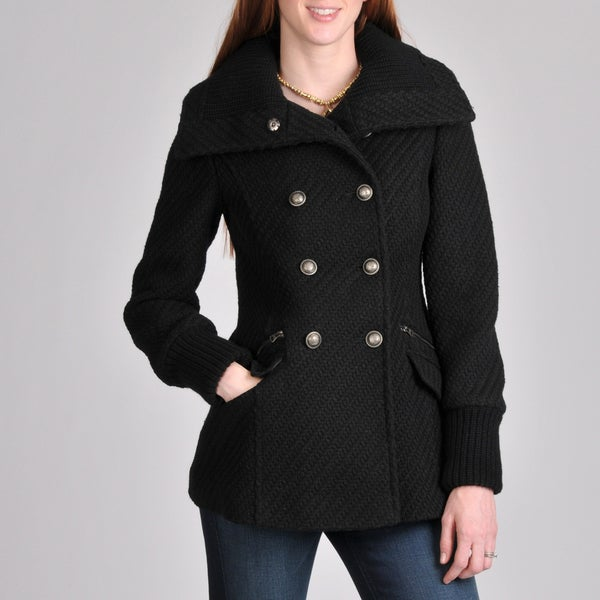 Buffalo Women's Double Breasted Wool Coat