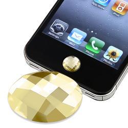 Amber Diamond Home Button Sticker for Apple iPhone/ iPad/ iPod