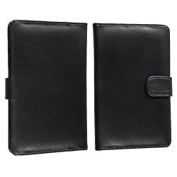 INSTEN Leather Phone Case Cover/ Screen Protector/ Stylus for Amazon Kindle Fire