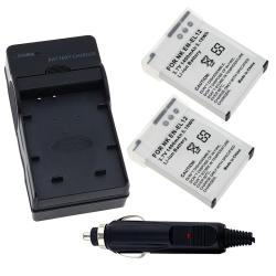 Battery/ Battery Charger Set for Nikon EN-EL12/ CoolPix S1000pj