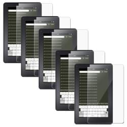 Screen Protector for Amazon Kindle Fire (Pack of 5)