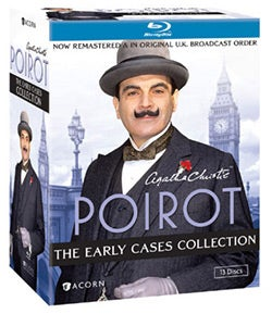 Poirot: The Early Cases Collection (Blu-ray Disc)
