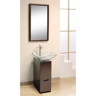 DreamLine 3-piece Contemporary Mahogany Vanity Set