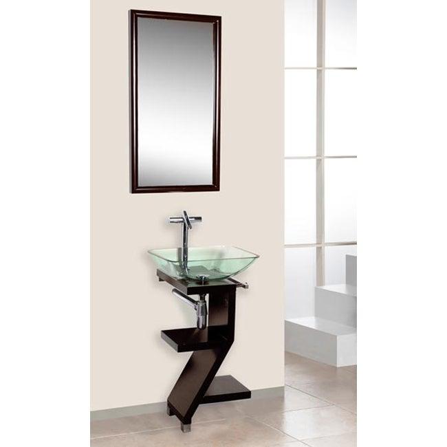 DreamLine 3-piece Contemporary Mahogany Wood Vanity Set