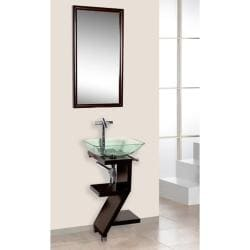 DreamLine 3-piece Contemporary Mahogany Wood Vanity Set