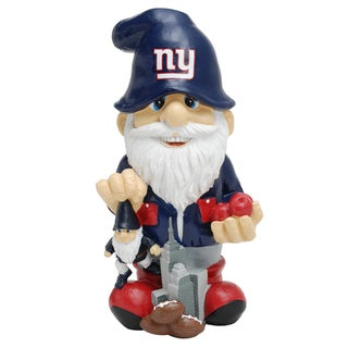 Forever Collectibles NFL New York Giants Second String Thematic Gnome