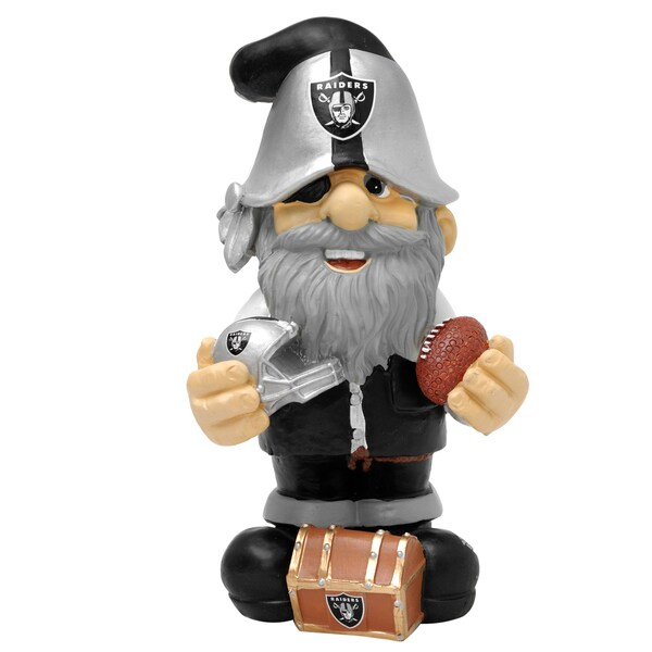 Forever Collectibles Oakland Raiders Second String Thematic Garden Gnome