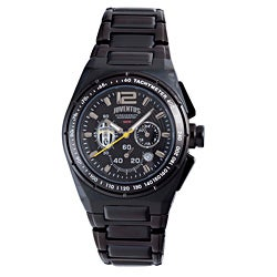 Juventus Men's Black PVD Coated Stainless Steel Watch