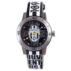 Juventus Men's Black Dial Leather Watch
