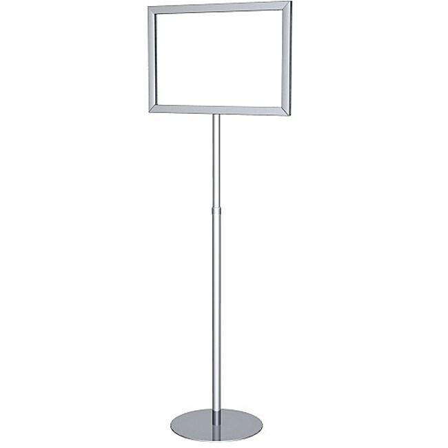 Testrite Perfex Telescopic 11 x 17 Silver Pedestal Frame