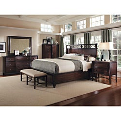 Intrigue Shelter 5-piece King-size Bedroom Set