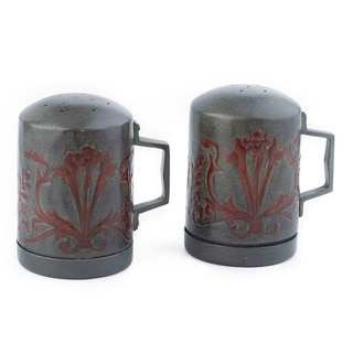 Old Dutch Art Nouveau Stovetop Salt/ Pepper Set