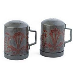 Old Dutch Art Nouveau Stovetop Salt/ Pepper Set