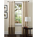 Prima Ivory/ Taupe Curtain Panels (Set of 2)