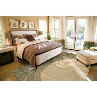 Nourison Hand-tufted Dimensions Bisque Rug (7'6 x 9'6)