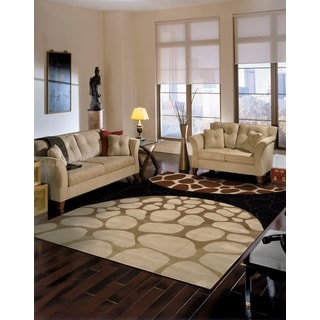 Nourison Hand-tufted Dimensions Multi Rug (8' x 11')