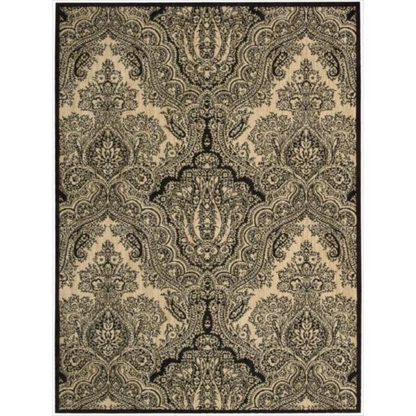 Joseph Abboud by Nourison Majestic Black Rug (9'6 x 13')