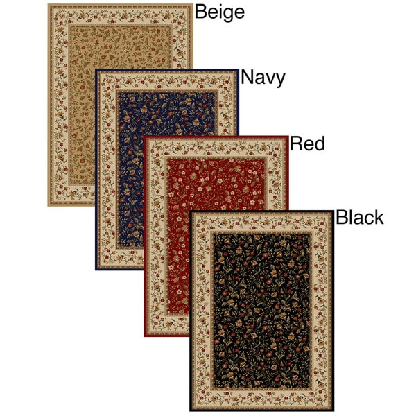 Admire Home Living Amalfi Floral Area Rug (24 x 48)