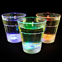 Light Up Color Changing LED Shot Glasses (Set of 12)