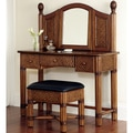 Marco Island Refined Cinnamon Vanity and Bench