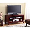 K&B Cherry Finish TV Stand