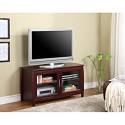 K&B Merlot FinishTV Stand