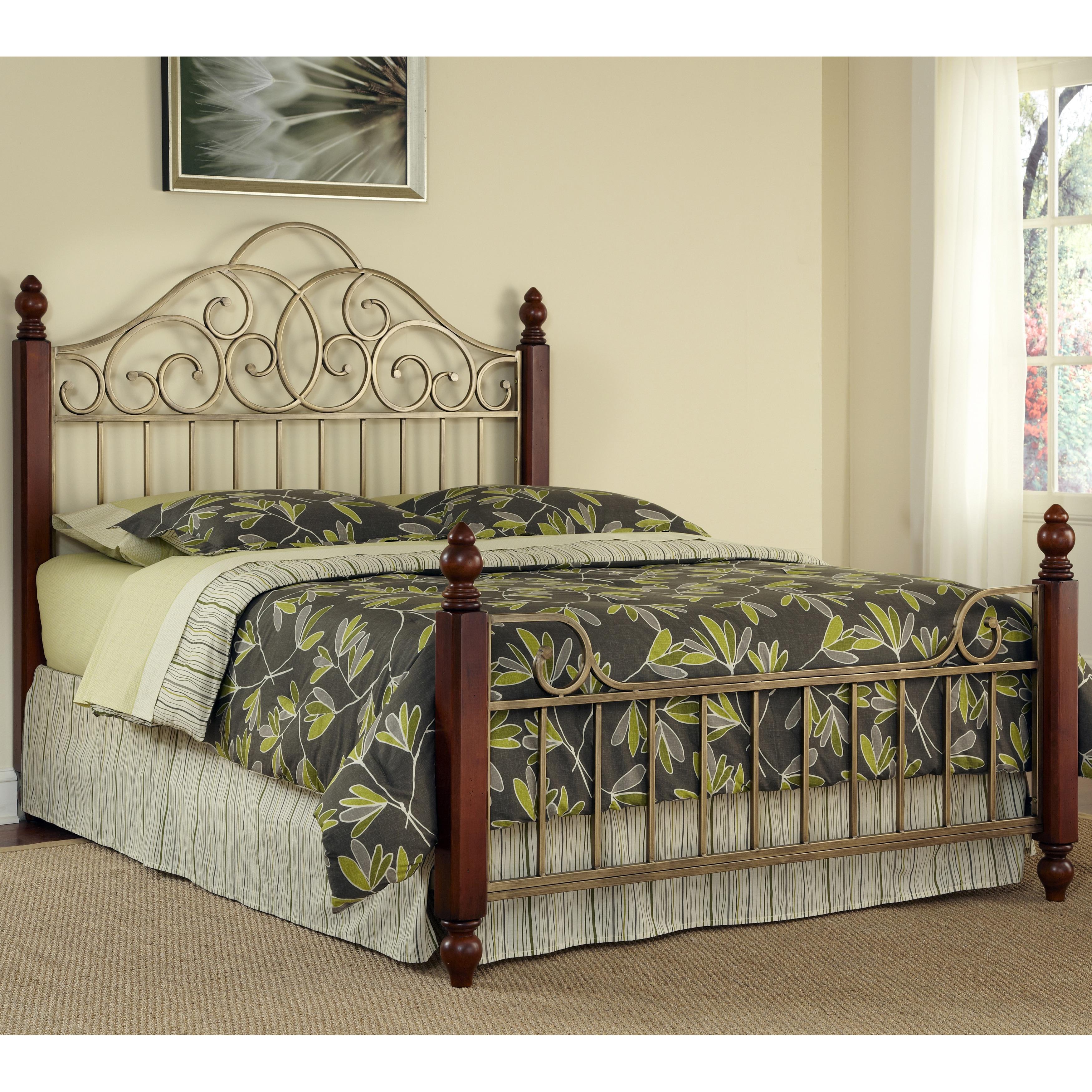 french country king bed frame solid wood bedroom set metal headboard footboard beds bed frames. Black Bedroom Furniture Sets. Home Design Ideas