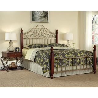 Home Styles St. Ives King-size Bed and Two End Tables Set