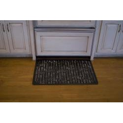 Somette Silverware Kitchen Comfort Mat (2' x 3')