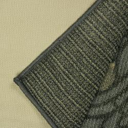 Morning Song Grey Indoor/Outdoor Area Rug (5'x7')