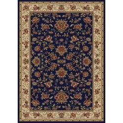Admire Home Living Amalfi Oriental Flower Print Area Rug (5'5 x 7'7)