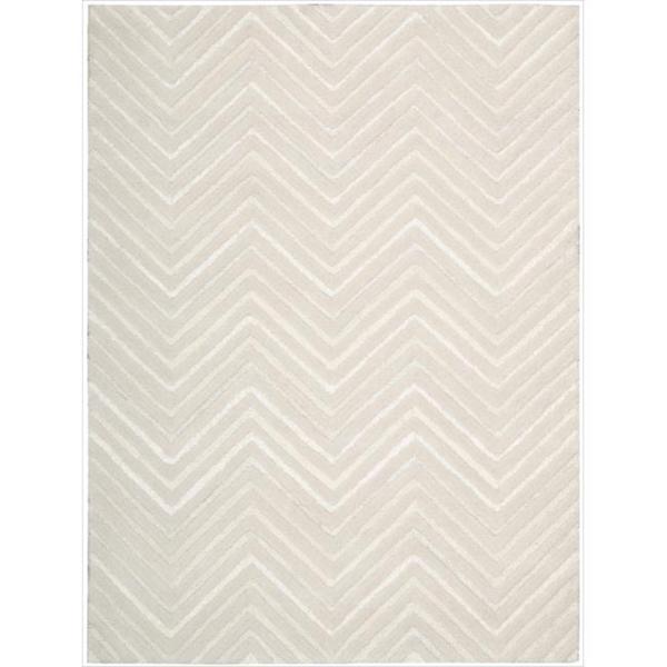Joseph Abboud Modelo White Area Rug by Nourison (7'6 x 9'6)