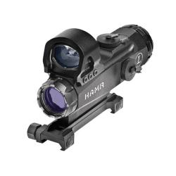 Leupold Mark 4 4x24mm HAMR Rifle Scope with Delta Point Reflex Sight