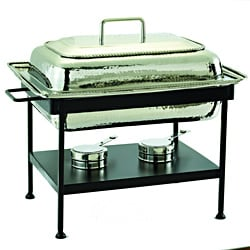 Old Dutch 8-quart Rectangular Polished Nickel Chafing Dish